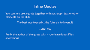 Quote Slide Deckset Help Quotes