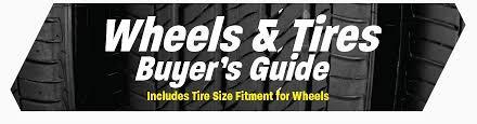 Honda Civic Wheel Size Chart Wheels Tires Buyers Guide For Honda Civics At Pro Car Studio