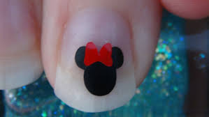 Disney Nail Art Polished Looks By Melissa Mickey Mouse My. Disney ...