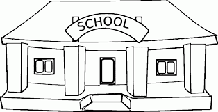 Small Picture School Building Printable Coloring Pages For Free To Download Also