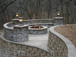 retaining wall lights low voltage magnificent landscape outside decorating ideas 4