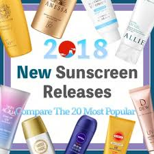 Guide To The Top 20 New Japanese Sunscreen Releases Of 2018