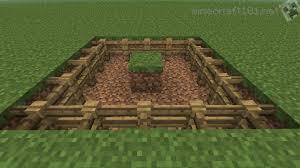 Minecraft fence Wood Minecraft Chicken Pen Minecraft 101 Basic Chicken Farm Tutorial Minecraft 101