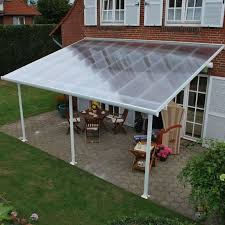 x outdoor hardtop polycarbonate roof patio gazebo w netti on patio recettemoussechocolat