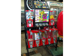 Used Sticker Vending Machine Delectable COMBO BULK CANDY CAPSULE STICKER VENDING MACHINE Item Is In Used