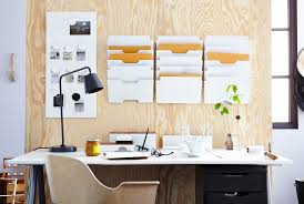 ikea office organization. Organizing. Desk In Front Of A Panel Wood Holding IKEA Wall Pockets And Noticeboard. Ikea Office Organization