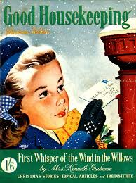 Good Housekeeping Advertising 1940s Uk Good Housekeeping Magazine Canvas Print Canvas Art By The