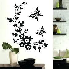 vinyl wall decor boys wall stickers nursery wall art white wall decals flower wall stickers wall