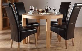 black round dining table and chairs for amazing york round oak dining table and chairs set