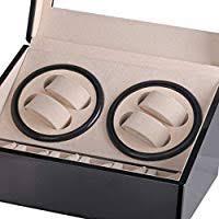 Luxury 4+6 Automatic Mechanical <b>Black Watch</b> Box High Class ...