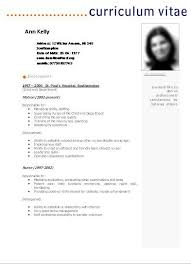 Formatos De Curriculum Simple Modelos De Curriculum Vitae Basicos Para Descargar