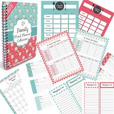 Free Family Meal Planner Collection Including Weekly, Bi-Weekly ...