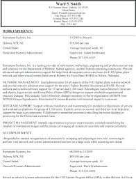 Government Resume Example Wonderful Government Job Resume Examples