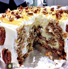 Carrot Cake Cheesecake Perfect For Thanksgivingchristmaseaster