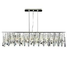 modern linear chandelier contemporary crystal