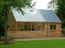 garden shed greenhouse combination