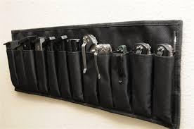 Handgun Magazine Holders 100 x Pistol MagazineKnives Gun Safe Door Organizer 6