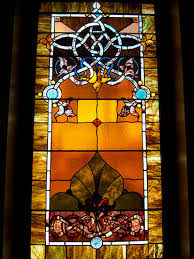 trinity united methodist church custom art glass design leaded