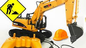 Unboxing - Huina Excavator RC Remote Control <b>Simulator</b> ...