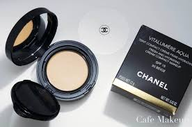 pact makeup chanel vitalumiere aqua foundation and swatches