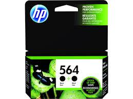 <b>HP</b> 564 <b>2-pack</b> Black Original Ink Cartridges (C2P51FN#140)