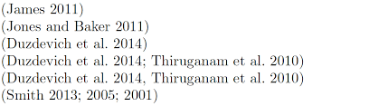 Citing Not Getting Desired Citation Style In Harvard Style Tex