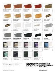 Golden Acrylics Color Chart Www Bedowntowndaytona Com