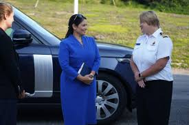 "Priti Patel on Twitter: ""Today I was in Dover to see how Border Force and  other operational partners are tirelessly dealing with the unacceptable  number of illegal small boat crossings. I am"