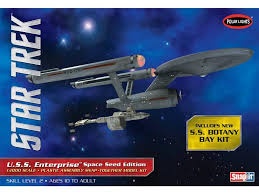 star trek 1 1000 tos uss enterprise space seed edition model kit