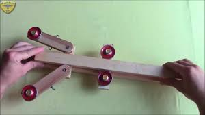 Spring Crossbow Design How To Make Powerful Spring Crossbow Youtube