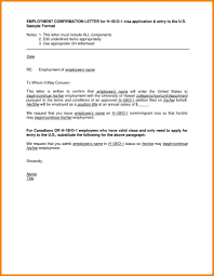 letter of employment confirmation employee confirmation letter format save letter format employee
