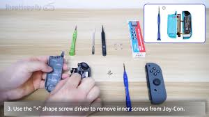 How to Fix Nintendo Switch Joy-Con <b>Metal</b> L/R <b>Lock Buckle</b> Set with ...