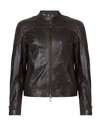 belstaff outlaw men s leather biker jacket black