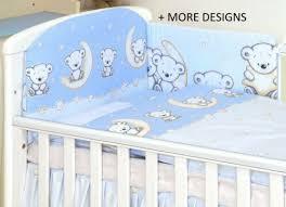 baby bedding set fit cot 120x60cm