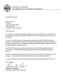 Da Releases Recommendation Letter For Campaign Contributors Son