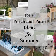 DIY Porch and Patio decorating Ideas for a Fun Summer Anikas DIY Life