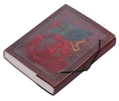 bulk whole 5 2x7 inch handmade brown color writing journal sbook in a leather cover