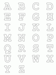Click on a thumbnail to see the whole alphabet. Free Printable Alphabet Coloring Pages A Z Coloring Home
