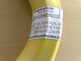 banana advertising