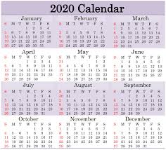 Word 2020 Calendars Printable 2020 Calendar Word Document Latest Printable