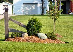 country driveway landscaping - Google Search
