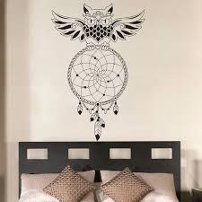 dream catcher bedroom owl wall decal art decor sticker vinyl mural wall stickers home decor bedroom on wall art decor bedroom with dream catcher bedroom owl wall decal art decor sticker vinyl mural
