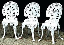 white metal outdoor furniture. Iron Garden Chairs Cast Furniture Creative Of Wrought Benches Outdoor Aluminum Versus White Metal