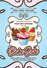 Bake Sale Flyer Templates Free Free Flyer For Bake Sale
