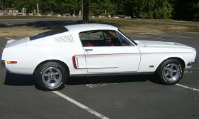 Ford mustang gt fastback 1968 | White Mustang GT Fastback ...