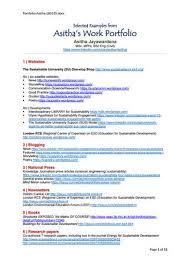 Asithas Work Portfolio Selected Examples By Asitha Jayawardena