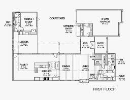 u shaped ranch home plans