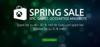 Microsoft Spring Sale Sichere Dir Deinen Rabatt Auf Games Und Mehr