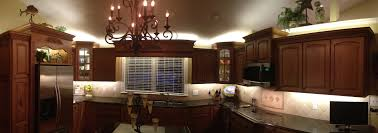 lighting for kitchen cabinets. Great Lighting Above Kitchen Cabinets With Accent Knick Knacks InspiredLED  Blog And Kitchen35 Lighting For Kitchen Cabinets