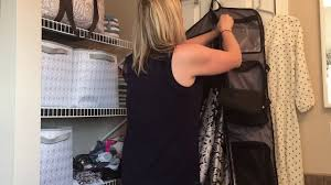 Thirty One Gifts Well Suited Garment Bag Youtube